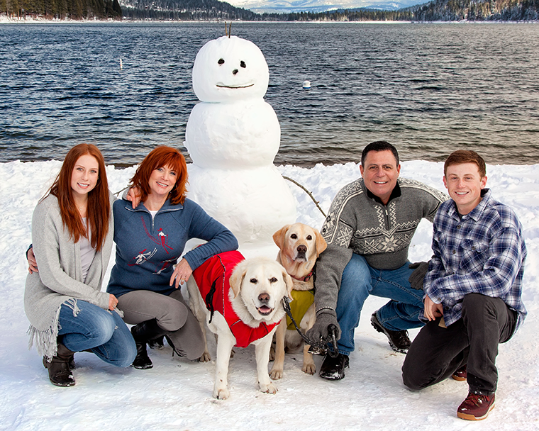 Elder Family at Donner Lake