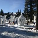 Carve Tahoe snow sculptures