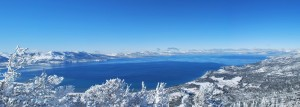 Lake Tahoe Winter Scenic