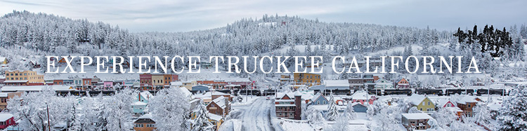 Truckee Downtown Snow